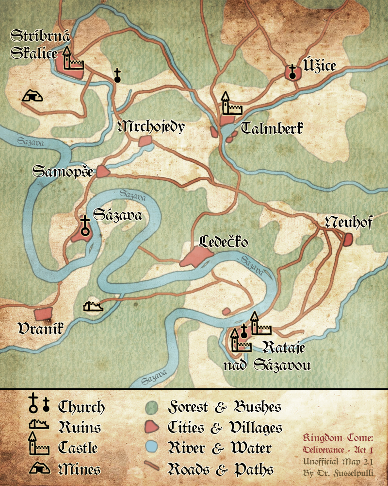Kingdom Come Deliverance: All the Ancient Map... | GameCrate