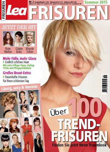 Zeitschrift Lea Frisuren Magazin No 02 Sommer 2015 Nydus