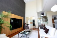 Flat screen TV & living room: How do I look?