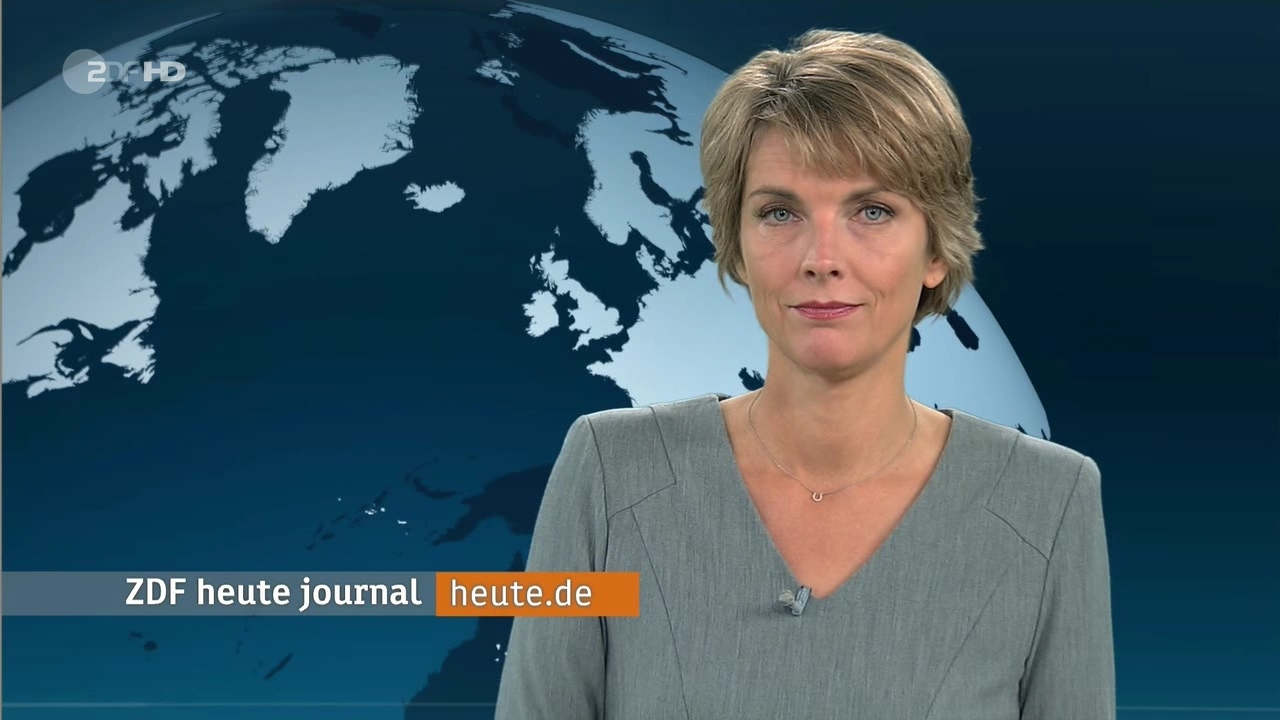 "Marietta Slomka ""Heute Journal"" Am 13 10 2015 Als Extra Posting"
