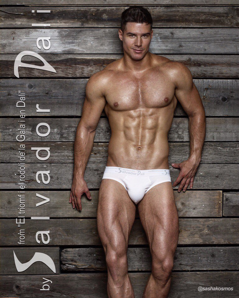 Dmitry Averyanov by Sasha Kosmos - Underwear Salvador Dali