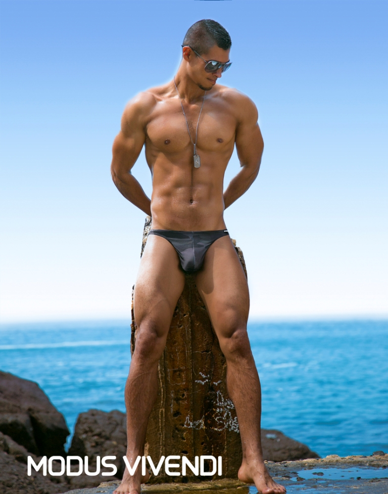 Isa Viorato by Tom Cullis - Modus Vivendi Camouflage Swim 17