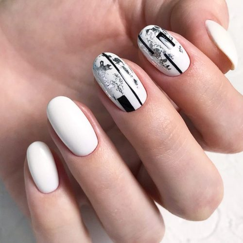 19cute Designs For Oval Nails Style2 T
