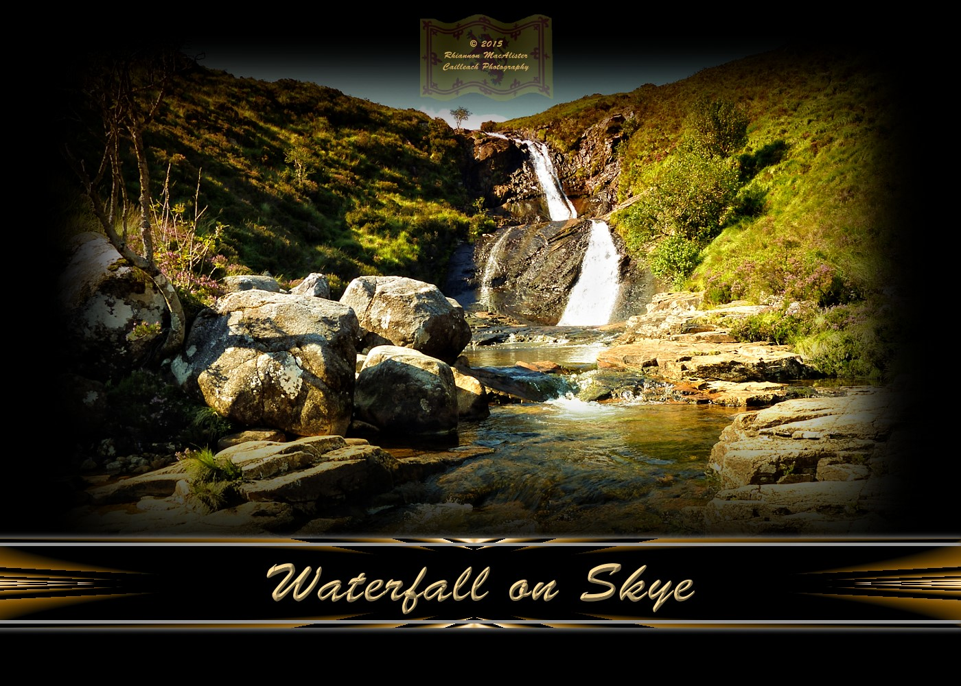 Waterfall on Skye