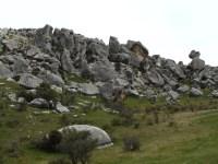Castle Hill, Bouldering