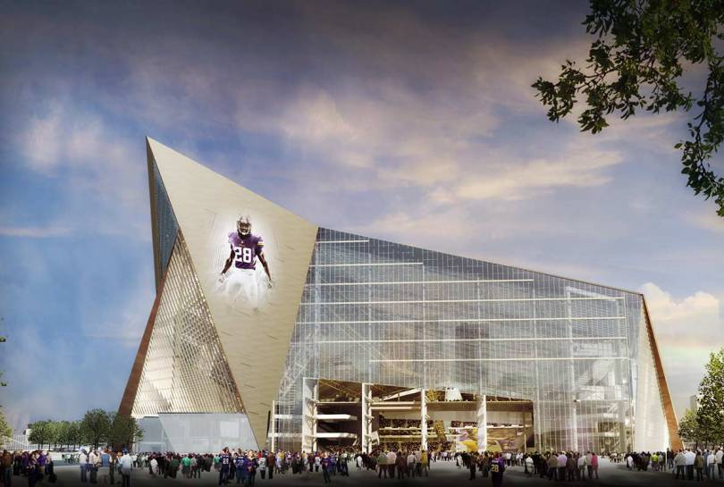 U.S. Bank Stadium (Minnesota Vikings), Minneapolis, MN