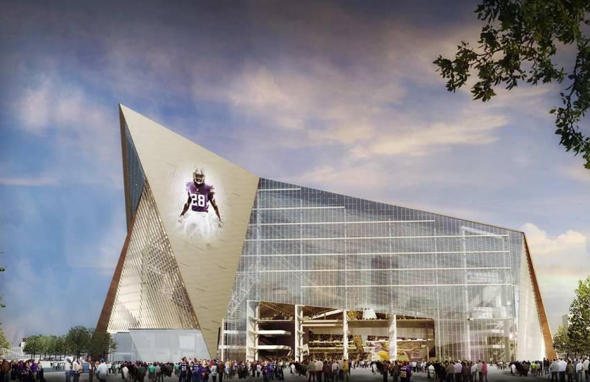 U.S. Bank Stadium (Minnesota Vikings), Minneapolis, MN