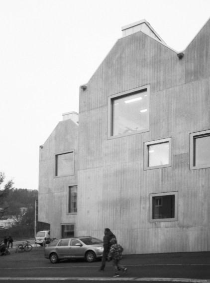 klare Fassaden