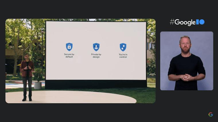 Google IO security privacy