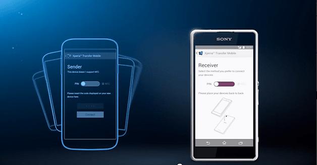 androidpit sony передачи