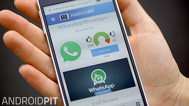 профиль приложения androidpit WhatsApp 1