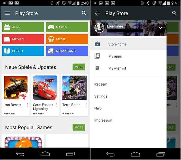 androidpit google play store обновить версию 5 1 1