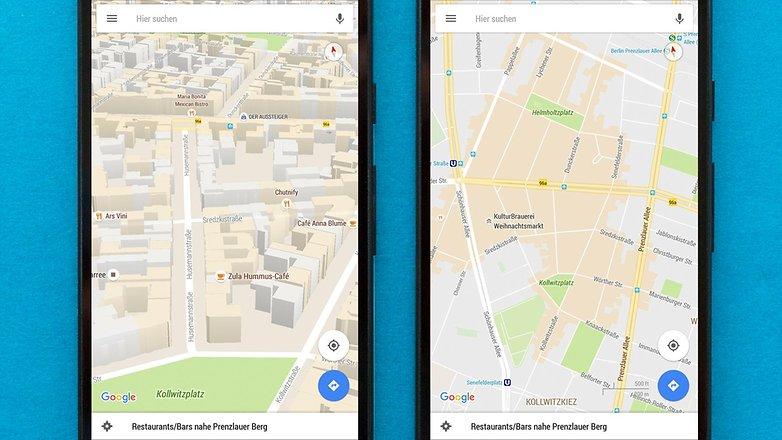AndroidPIT Google Maps области интересов 3