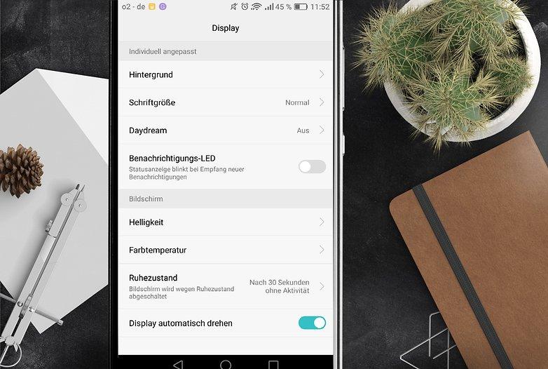 AndroidPIT huawei P9 проблемы 2 один экран DE