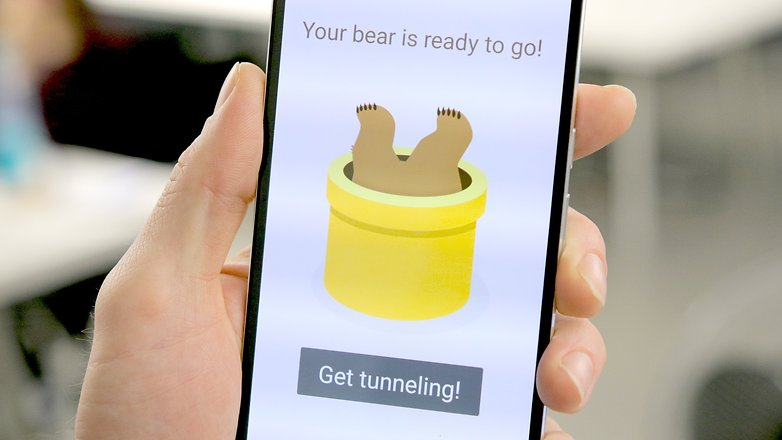 AndroidPIT Nexus 6P туннель медведь vpn