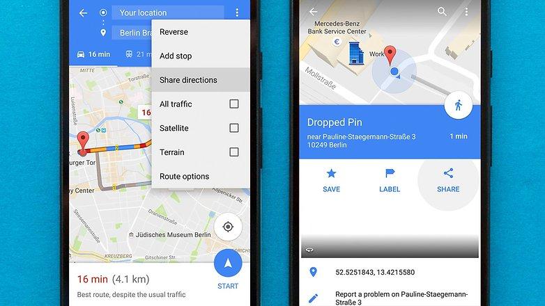 Советы и хитрости Google Maps для AndroidPIT 1