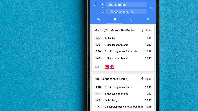 Советы и хитрости Google Maps для AndroidPIT 2