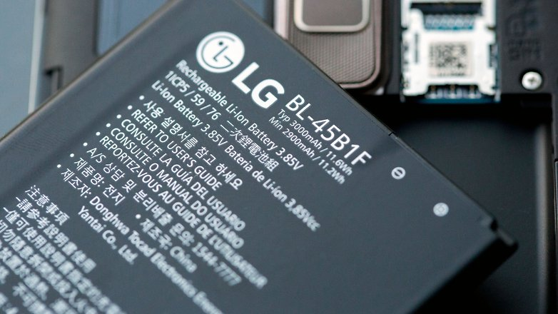 AndroidPIT lg stylus 2 аккумулятор