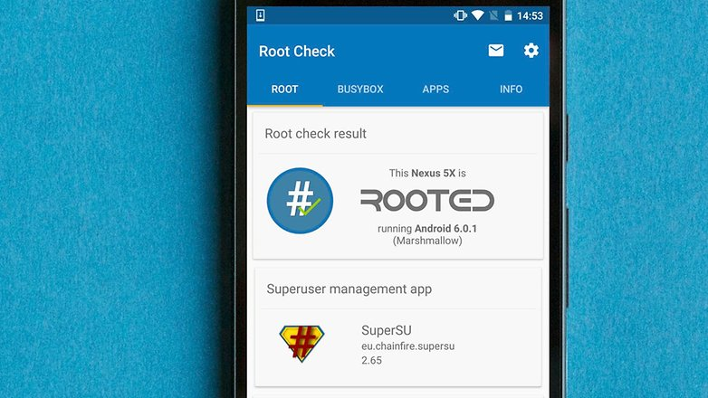AndroidPIT root check app как получить root права