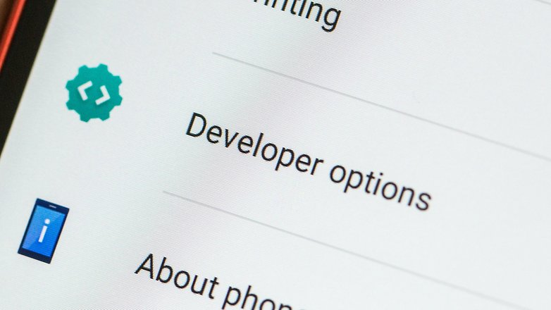 Варианты разработчика androidpit 2