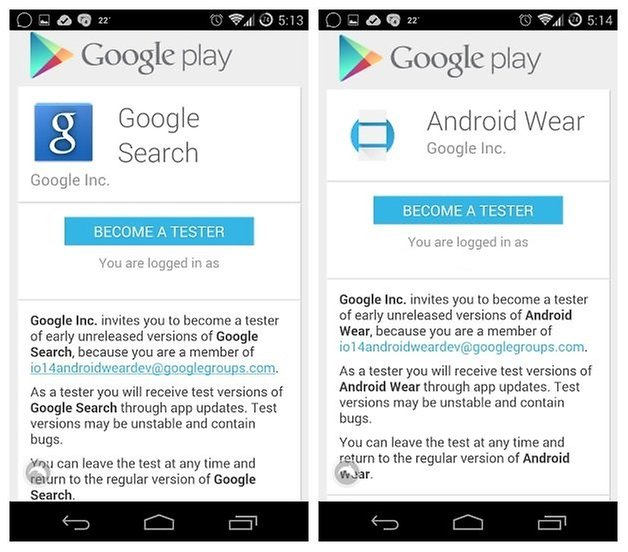 AndroidPIT Настройка Android Wear 3