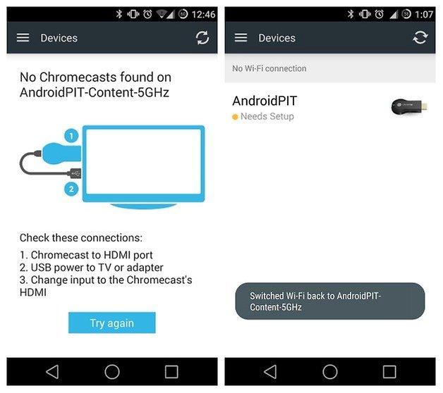AndroidPIT Chromecast Switch WiFi 5