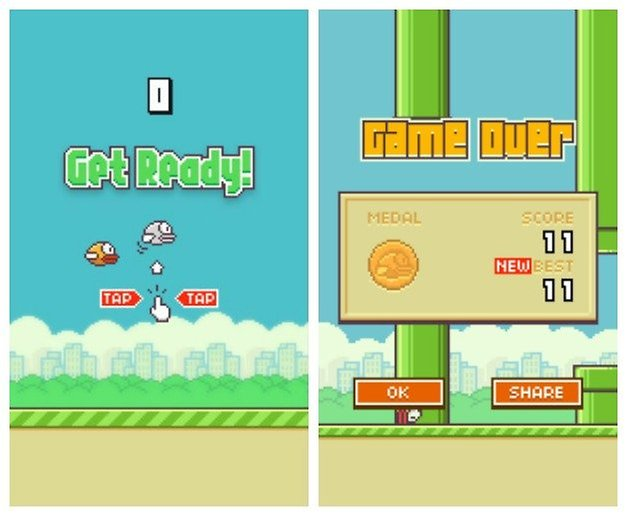AndroidPIT Flappy Bird