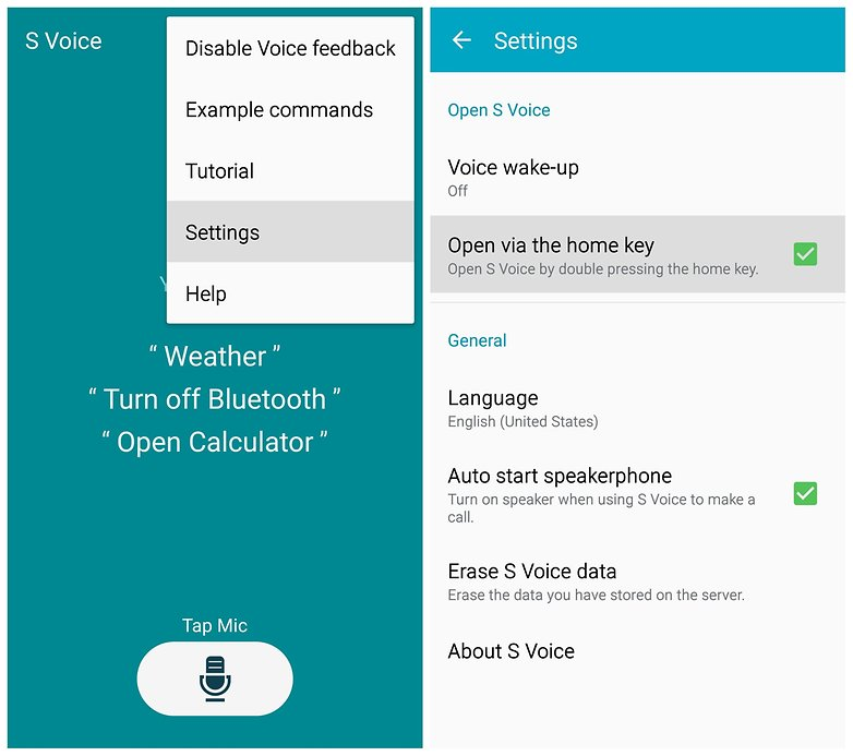 AndroidPIT Galaxy Note 4 S Voice отключить ярлык