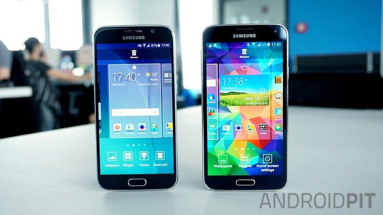 AndroidPIT Galaxy S5 Galaxy S6 темы