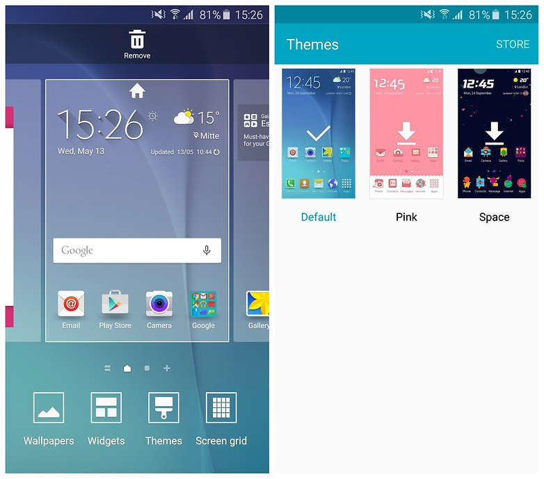 Темы AndroidPIT Galaxy S6