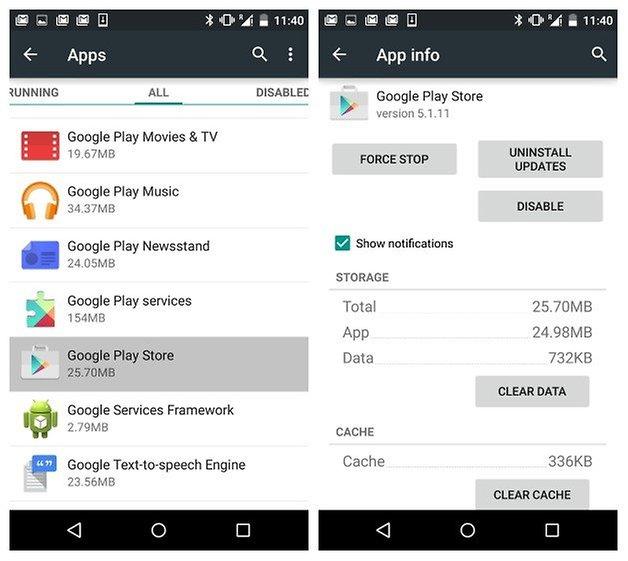 Информация о приложении AndroidPIT Google Play Store
