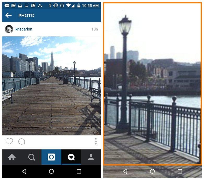 AndroidPIT Instagram увеличить фото
