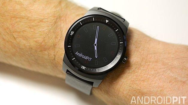 AndroidPIT LG G Watch R Постоянный режим