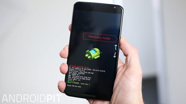 Режим восстановления AndroidPIT Nexus 6