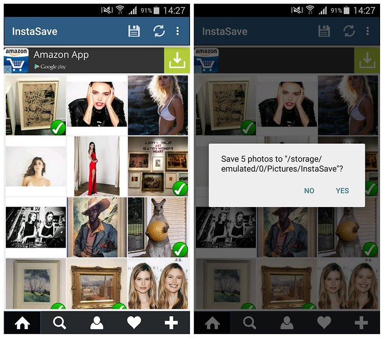 AndroidPIT Instagram фото сохранение InstaSave 2