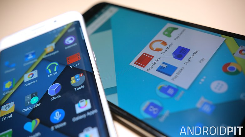 AndroidPIT Samsung Galaxy S6 Edge Nexus 6 значки