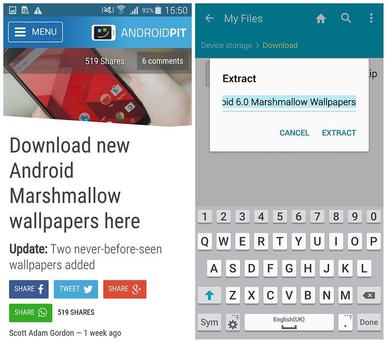 AndroidPIT Galaxy S5 обои зефир