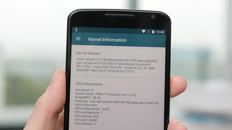 AndroidPIT связывает помощника по информации о процессоре 6 ядра