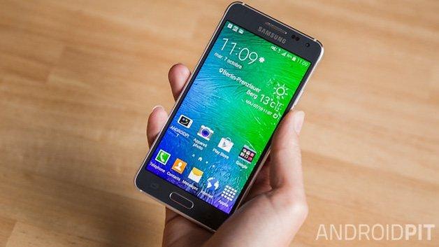 Samsung Galaxy Alpha французский
