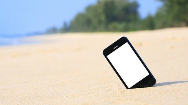 пляжный смартфон