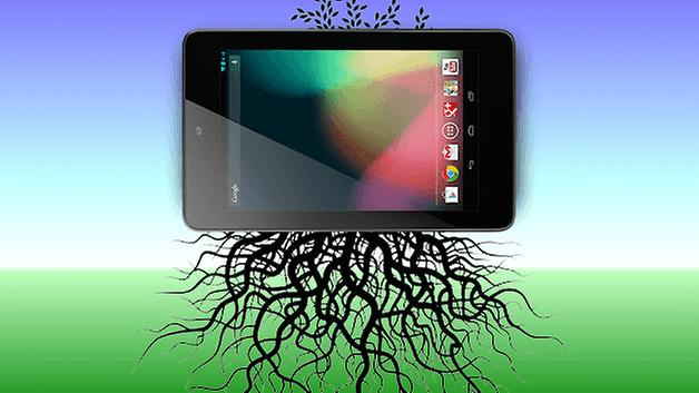 root nexus 7 тизер
