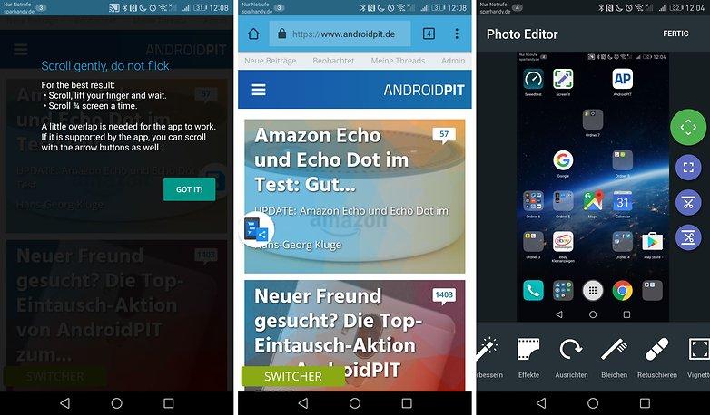 скриншоты приложений Android