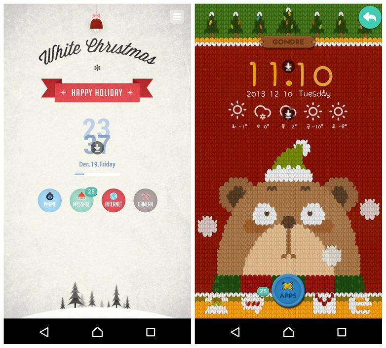androidpit веселые рождественские темы для android