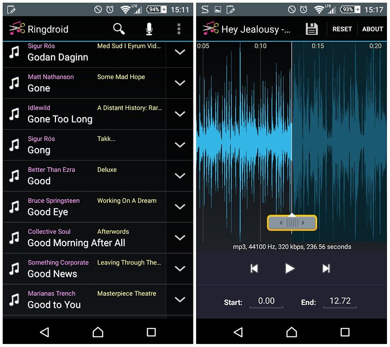 androidpit как превратить любую песню в рингтон 4