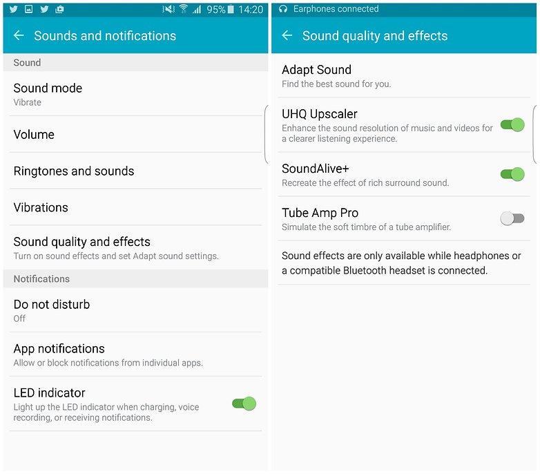 androidpit samsung galaxy s6 edge plus звуковые советы
