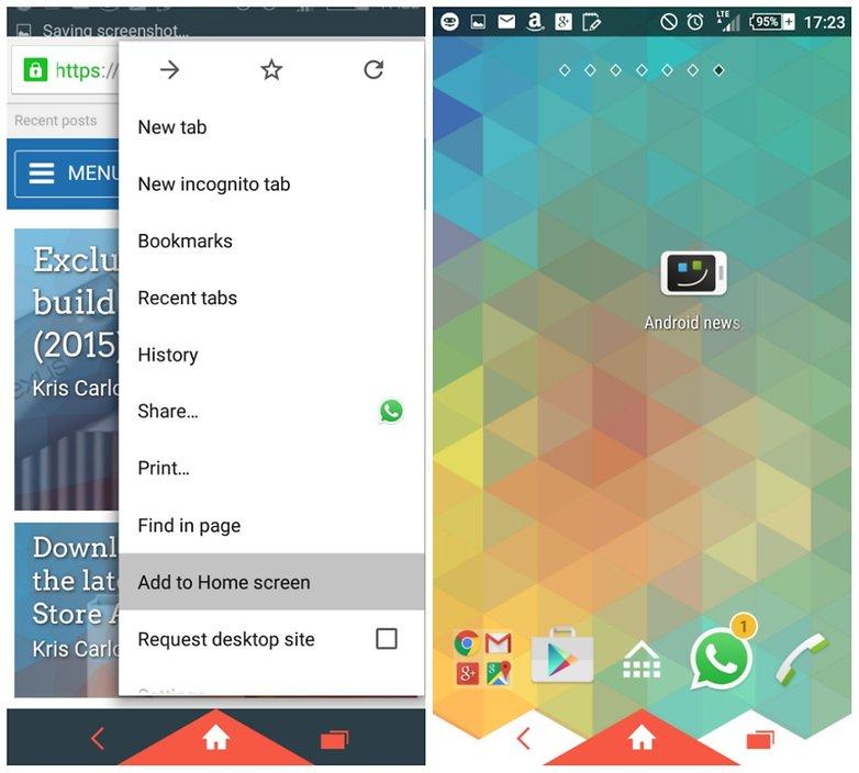 домашний экран закладок androidpit