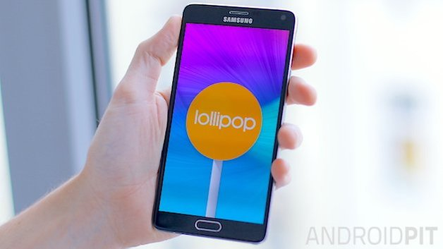 androidpit galaxy note 4 леденец тизер 2