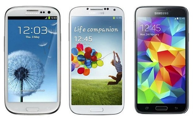 androidpit galaxy s3 s4 s5