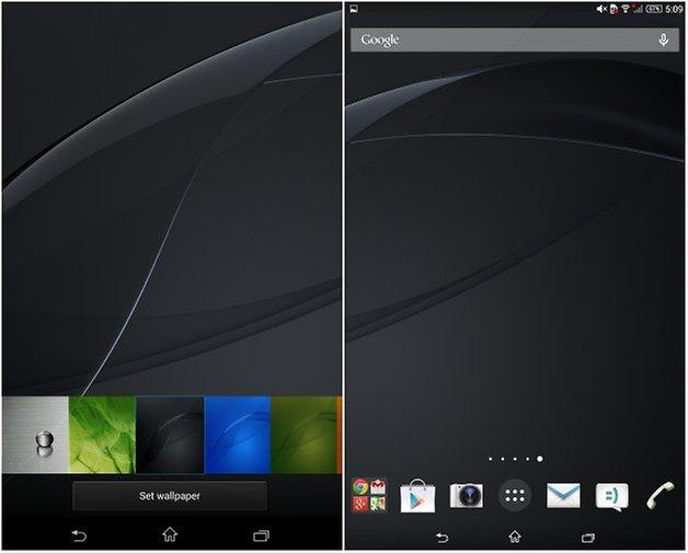 androidpit xperia z3 планшет компактные обои два