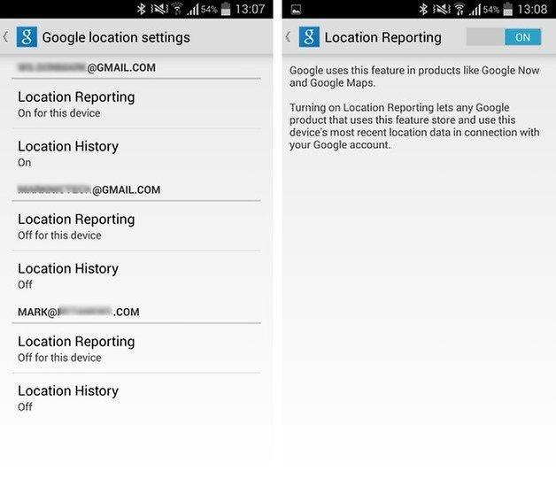 местоположение Android 3